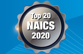 Top 20 NASA NAICS